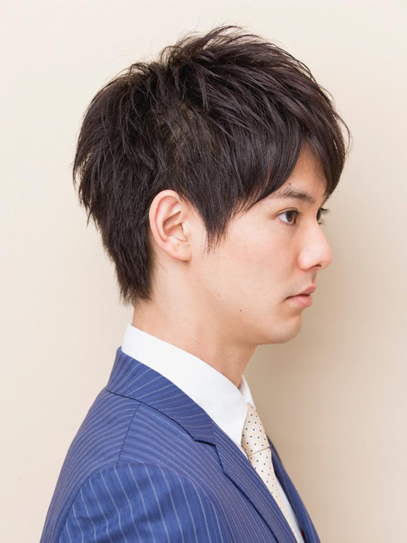 短髪 男子 髪型